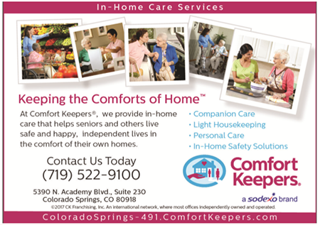 Comfort Keepers - Keeping the Comforts of Home