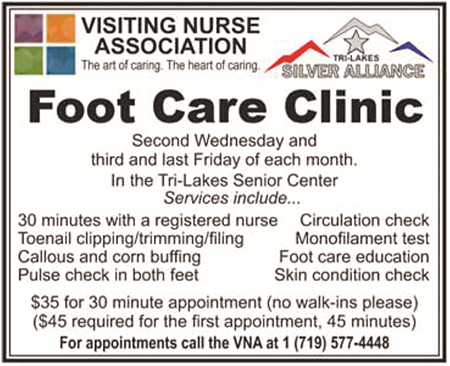 Visiting Nurse Association Foot Care Clinic